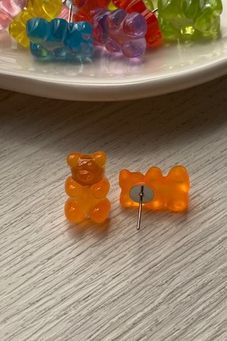 Beary Gummy Ear Studs