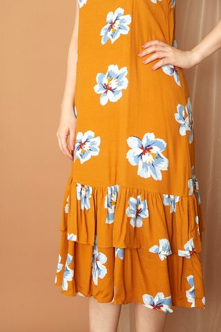 Dance Baby Midi In Butterscotch - Easycare
