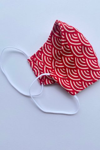 Fanny Red Mask (4 sizes)