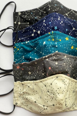 Constellation Black Mask (4 sizes)