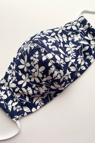 Midnight Floral in Navy