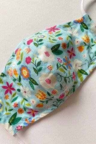 Cutie Beautie Floral - Mint