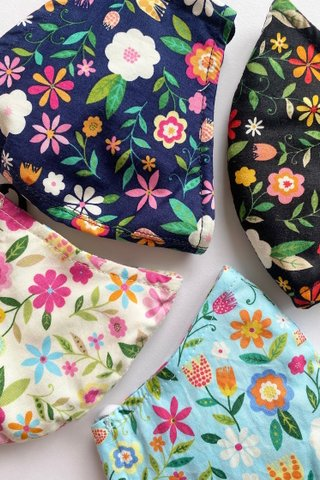 Cutie Beautie Floral Bundle of 4