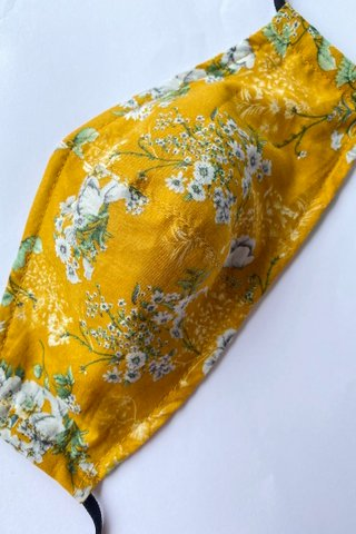 Peranakan Floral in Mustard *Extra Soft*