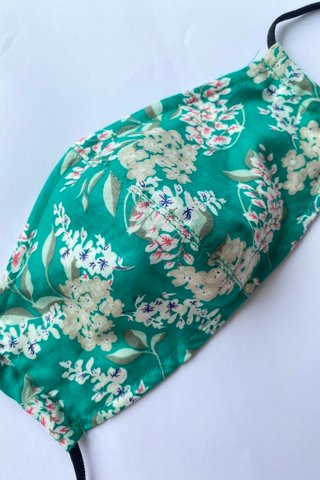 Peranakan Floral in Jade *Extra Soft*