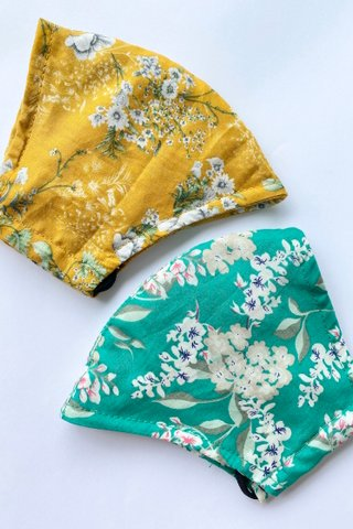 Peranakan Floral - Bundle of 2 *Extra Soft*