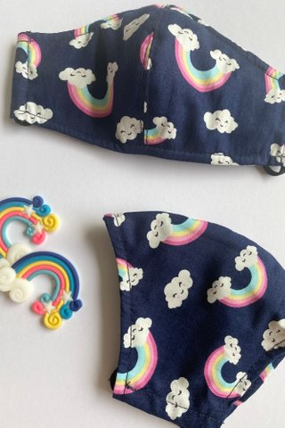 Rainbows - Navy