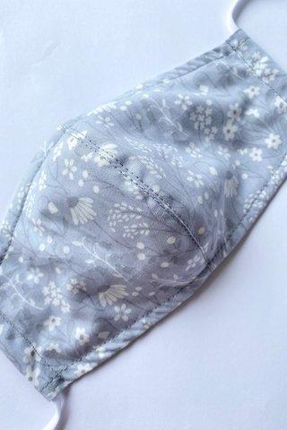 Pastella Floral - Pastel Grey
