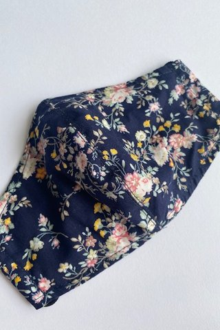 Flowers of Sorts - Navy