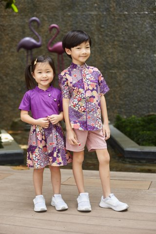 Diona Shirt in Purple (Boys)