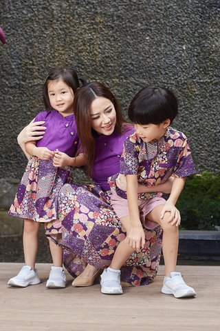 Diona Dress in Purple (Girls)