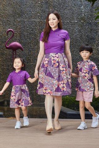 Diona Orient in Purple (Tall)