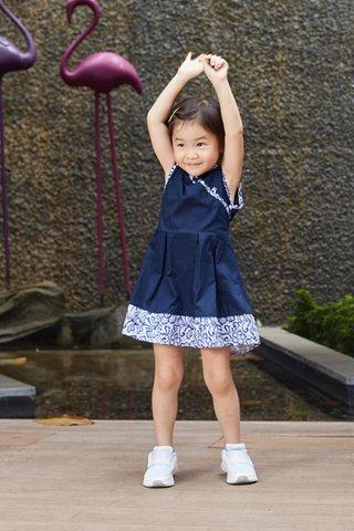 Lorie Dress in Blue (Girls)