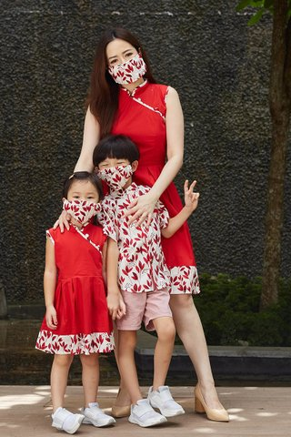 Lorie Shirt in Red (Boys)