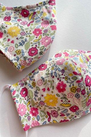 Pink Bloom Mask